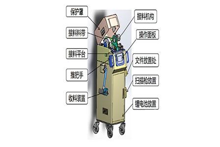 自动接料机